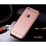 Rose Gold Luxury 3 in 1 Hard iPhone Case